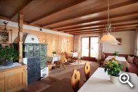 Frühstücksraum in er Pension Sonnblick in Westendorf